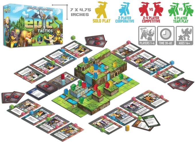 Tiny Epics Tactics - Spielmaterial