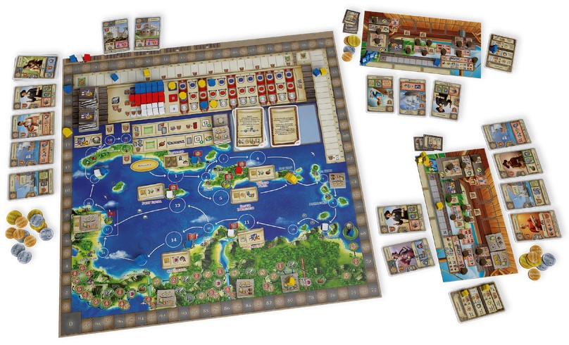Maracaibo - Spielmaterial